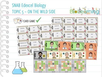 SNAB Biology Topic 5 - Keyword Game