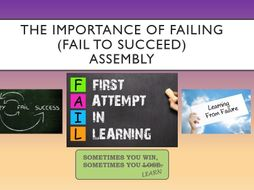 The Importance of Failing Assembly