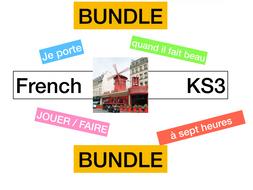 KS3 - French Allez 1 Ça,  c'est mon truc (6.1 -6.2 -6.3 - 6.4)