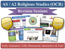 A2 Buddhism - 6 x Revision Sessions for OCR Religious Studies (Exam Preparation) For the new OCR RS Specification! Covers the A2 'Developments in Buddhism Thought' section of the specification.