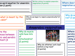 AQA TRILOGY ANAEROBIC RESPIRATION AND EFFECT OF EXERCISE