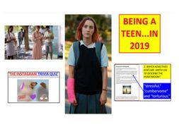 Being a teen in 2019! 6 week themed SOW - GCSE English Language