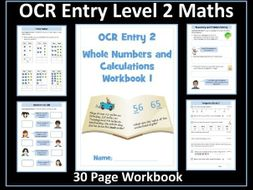 OCR Entry Level 2 Maths - Numbers to 100