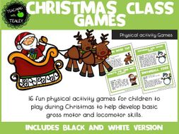 Christmas Sports Games for Kids