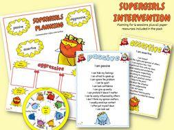 Supergirls communication intervention