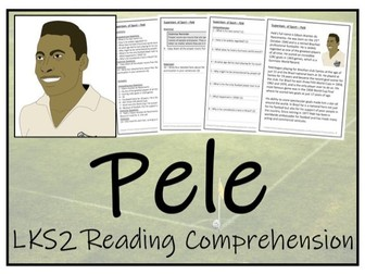LKS2 Pele Reading Comprehension Activity