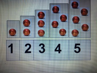 Counting/matching board for students on P levels /PRE-KEY STAGE 1-2 STANDARD/