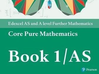 A-level Core Pure Mathematics Year 1/AS
