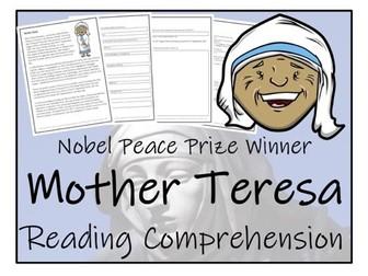 UKS2 History - Mother Teresa Reading Comprehension Activity