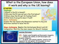 European Union + Brexit