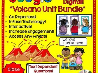 Google Drive Volcano Unit Interactive Notebook For Google Classroom
