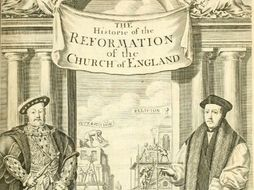 OCR GCSE History A 1-9 , Paper 3: The English Reformation c1520-c1550 Revision List