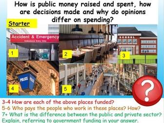 Citizenship GCSE Government Spending