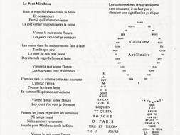La poésie - une collection de poèmes