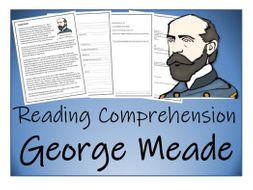 UKS2 History - George Meade Reading Comprehension Activity