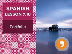 Spanish Lesson 7.10: Unas Vacaciones Maravillosas - Portfolio