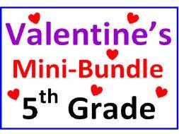Valentine's Day 5th Grade Mini-Bundle