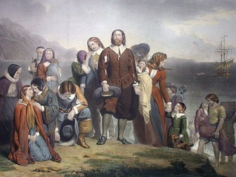 Who were the Pilgrim Fathers?
