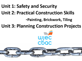 WJEC Construction: Safety and Security in Construction Unit 1