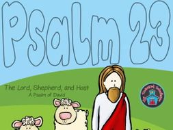 Psalm 23 - The Lord is My Shepherd Worksheet and Activity Pack