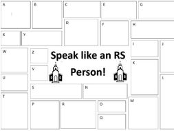 Speak like an RS Person
