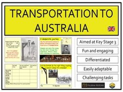 Transportation to Australia