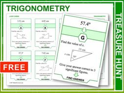 Trigonometry (Treasure Hunt)