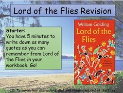 GCSE Lord of the Flies Revision