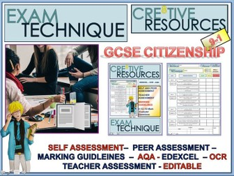 GCSE Citizenship - Marking