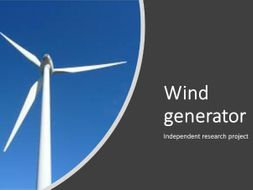 Independent research project - wind generation - differentiation tool -revised