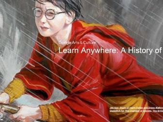 History of Magic: Learn Anywhere #googlearts