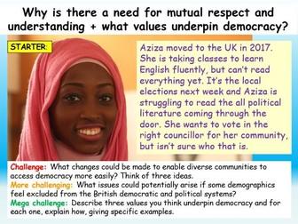 Mutual Respect Citizenship GCSE