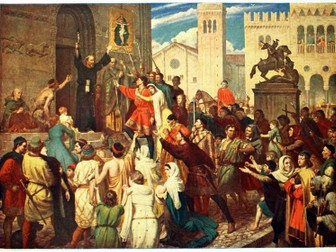 KS3 The First Crusade topic, Lessons 1-6 bundle
