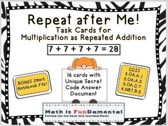 Repeat after Me!
