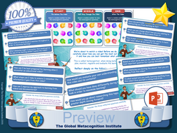 Metacognition Questioning Tool for Use With Videos [All Subjects]