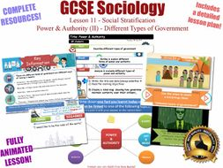 Power & Authority (II) - Social Stratification -L11/20 [ WJEC EDUQAS GCSE Sociology ]