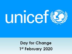 UNICEF Day for Change Assembly KS1 and KS2