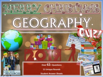 Geography Christmas Quiz 2019