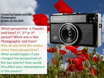 Power and Conflict - Comparing Poems, Revision Materials