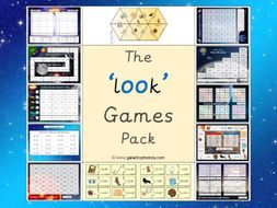 The 'oo' (as in look) Phonics Games Pack (Phase 3)