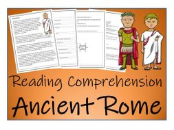 UKS2 History - Ancient Rome Reading Comprehension Activity