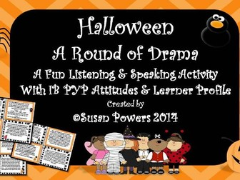 A Halloween Drama Circle Activity