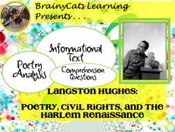 National Poetry  Month:  Langston Hughes:  Poetry, Civil Rights, and the Harlem Renaissance