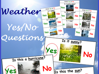Weather Yes No Questions