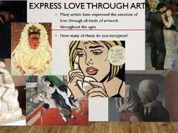 Love Art Famous Artworks Depicting Love Teaching Resources
