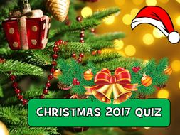 Christmas Quiz 2017