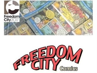Freedom City Comics learning framework