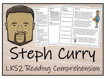 LKS2 History - Steph Curry Reading Comprehension Activity