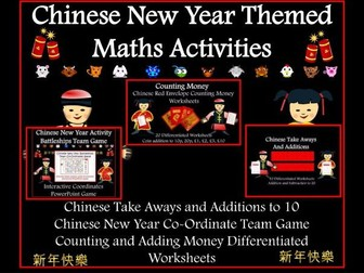 Chinese New Year Themed Maths