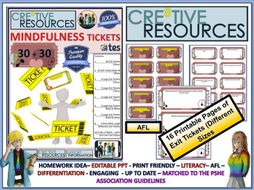 Mindfulness Reflection Tickets